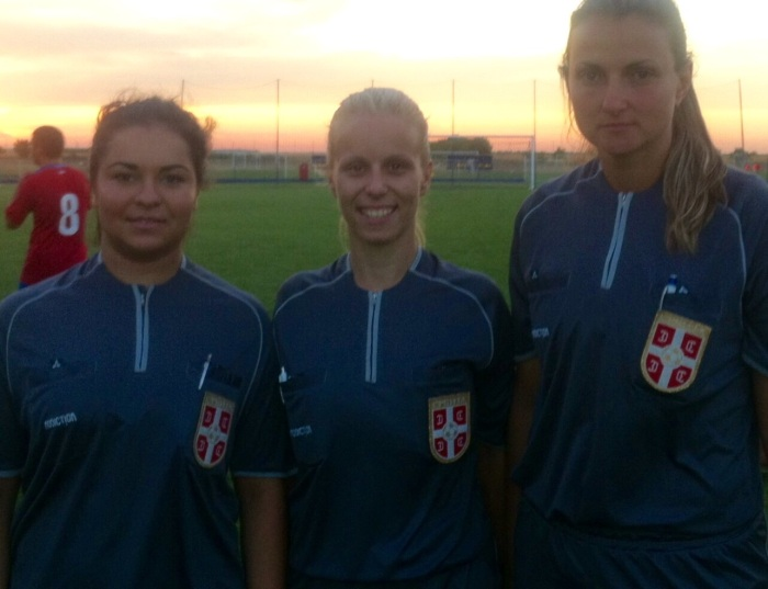 Female Serbian football officials
