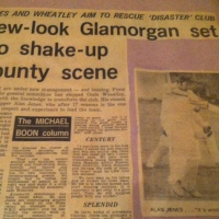 Glamorgan, grandpa and the 1977 Gillette Cup final