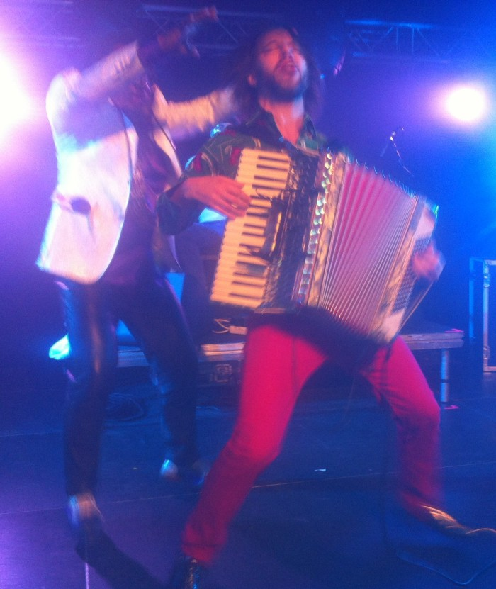 Accordion frenzy wraps up the night at Womex 2013