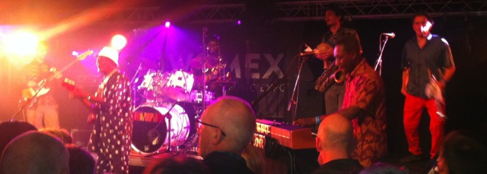 Ghanaian Ebo Taylor's sensational finale brought Womex 2013 to an end