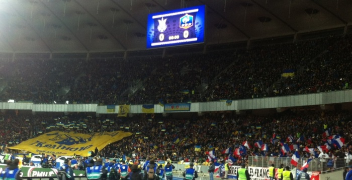 The crowd attendance for the match was 67,732