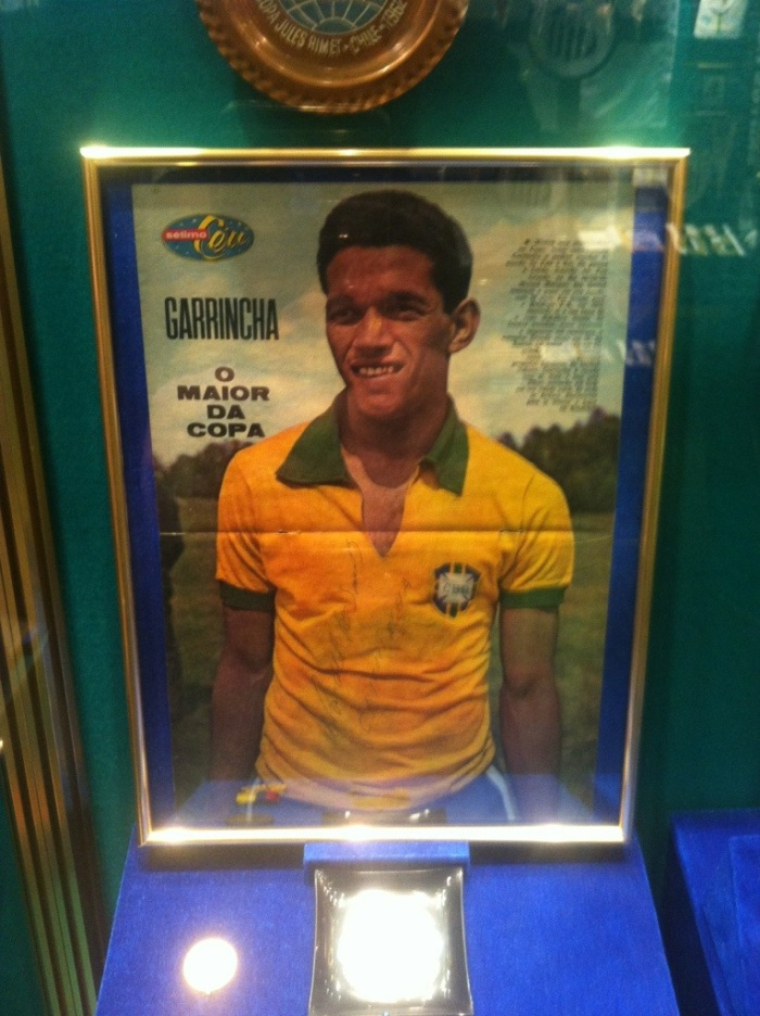 Garrincha was one of the big stars of the 1962 World Cup in Chile