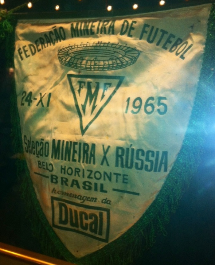 Russia played in Belo Horizonte, Brazil, soon after the stadium opened in 1965