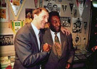 Pele and Nikolai - picture on the museum's website