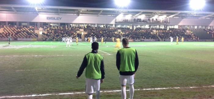 Newport County v Wimbledon