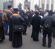 Grim Reaper at Euromaidan revolution