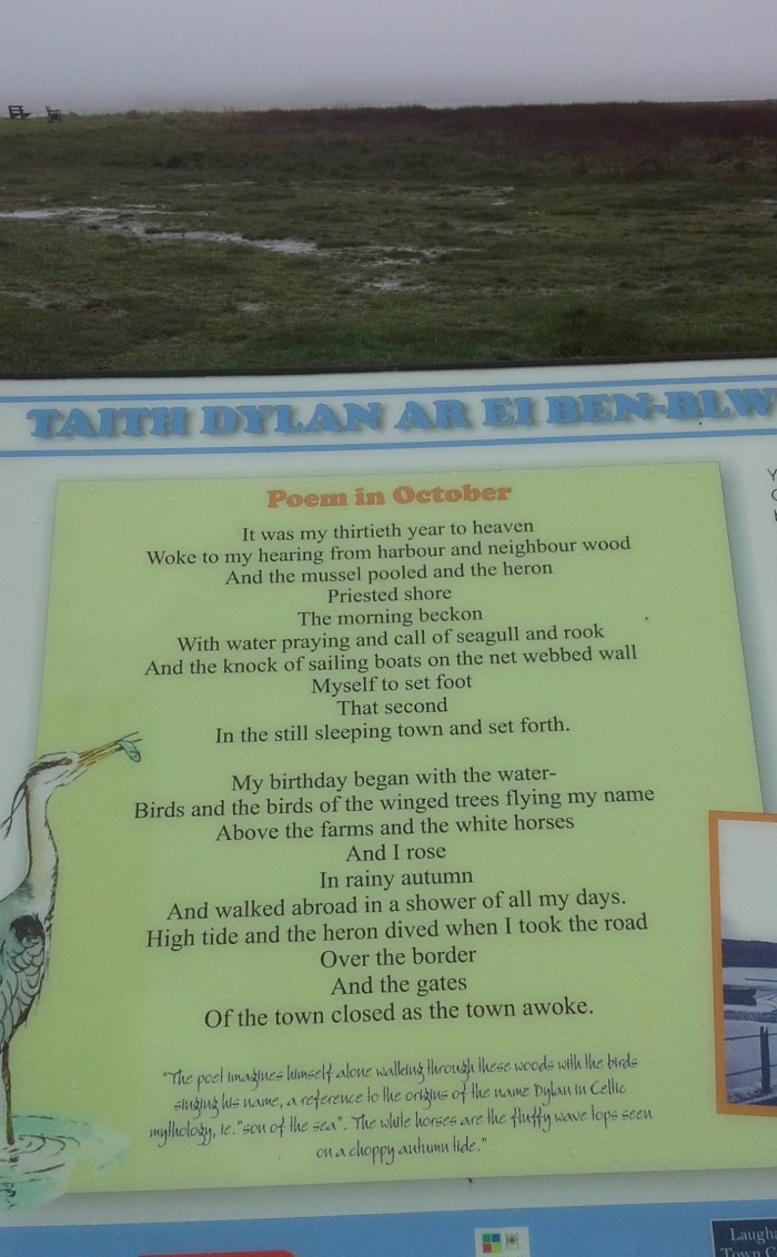 Poem In October, Dylan Thomas