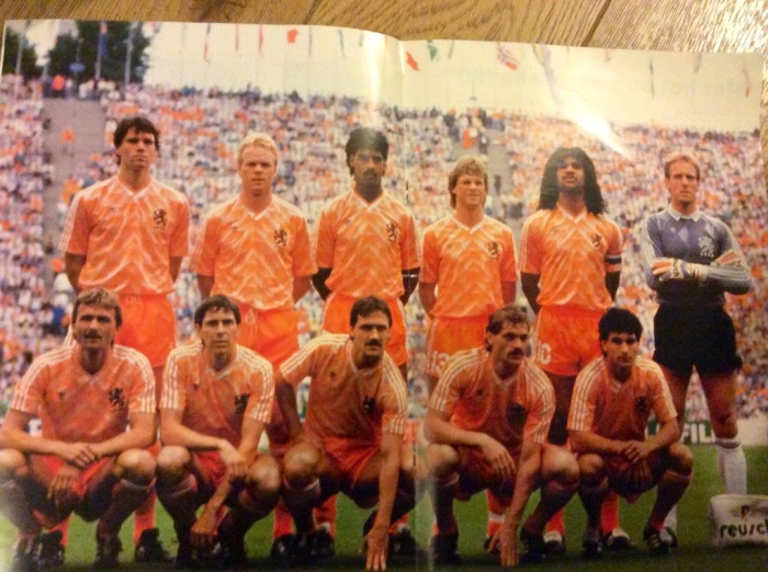 Holland v Wales 1988