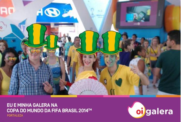 Fortaleza fan fest Brasil 2014