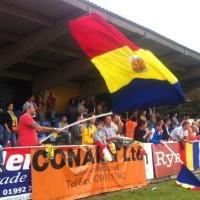 FC Romania 2 Sutton Utd 3