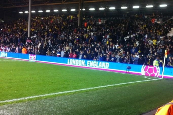 Colombia v USA, Craven Cottage