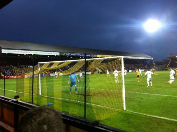 Cambridge 2 Luton 1, FA Cup