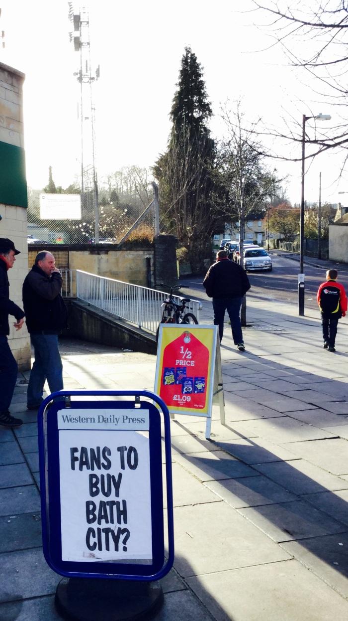 Bath City fans want to buy  their club
